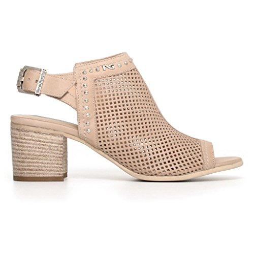 Femme Giardini Brides Nero Chaussures Jaune à q788w1xP