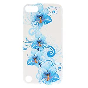 GJYFlower Pattern Soft TPU Case for iPod Touch 5