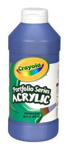 Check expert advices for crayola acrylic paint pint?