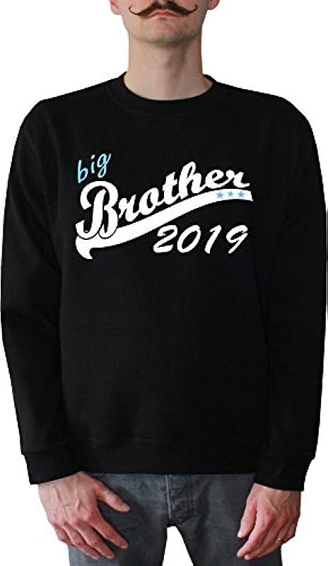 Mister Merchandise męski sweter z kapturem Big Brother 2019 sweter sweter z nadrukowanym: Odzież
