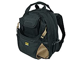 Clc 1134 Carpenter's Tool Backpack With 44 Pockets & Padded Back Support