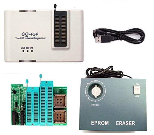 Burners Electronic (PRG-113 True USB Willem GQ brand GQ-4X V4 (GQ-4X4) USB universal 40 pin programmer + UV EPROM Eraser + 16 bit EPROM Adapter 28F102 27C400 27C800 27C160 27C322 27C1024 27C2048 27C4096 27c4002 M27C322)