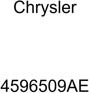 Genuine Chrysler 4596509AE Radiator Cooling Inlet Hose