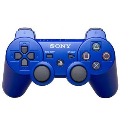 Sony 99007 PS3 DualShock 3 Controller Metallic Blue (Metallic Blue Ps3 Controller)