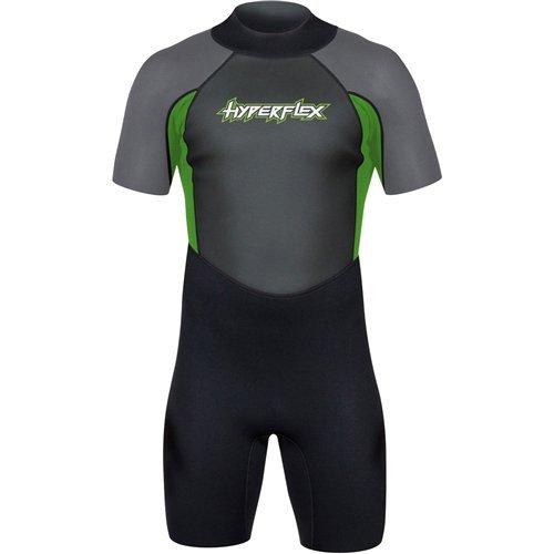 Hyperflex Men's ACCESS 2.5mm Back Zip Spring Suit - (Green, XXX-Large)