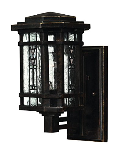 Hinkley 2246RB Transitional One Light Wall Mount from Tahoe collection in (Bronze Tahoe Transitional Wall)