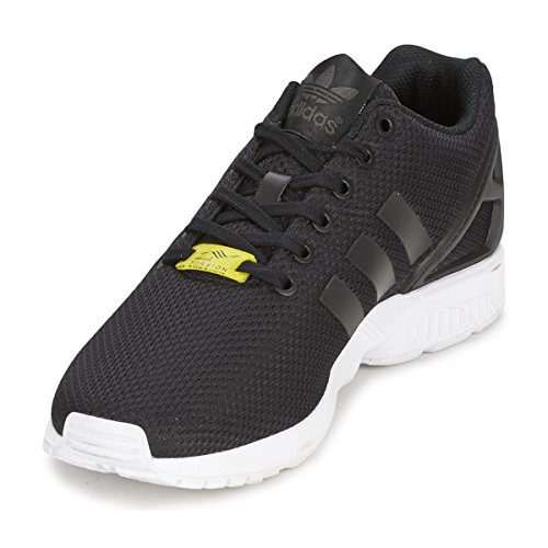 Adidas Zx Originals Sneaker Nero Flux 2 Bianco 0 Textile Taglia UUOwqSrx5