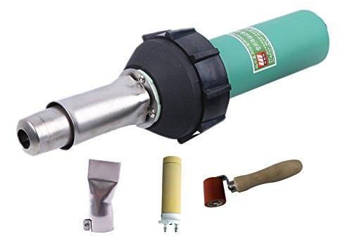 120V 1600W Handheld Plastic Welder Hot Air Gun Hand Tool Vinyl Welding Heat Gun Kit by LESITE
