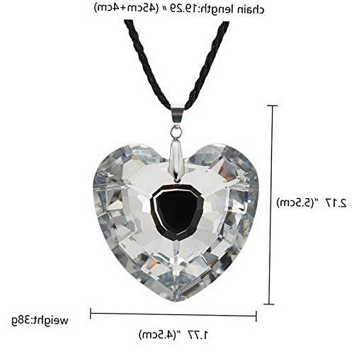 Kaputar New Charm Women Crystal Star Moon Heart Waterdrop Pendant Necklace Jewelry Gift | Model NCKLCS - 18065 |