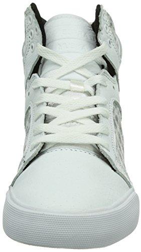 Supra SKYTOP - Zapatilla alta de lona mujer Blanco (WHITE - WHITE   WHT)