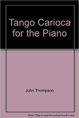 tango carioca for the piano