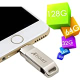 iPhone Flash Drive,imeek 64GB iPhone U Disk USB Flash Drive with Lightning Connector High Transfer Speed for iPhone 6/6s plus iPhone 6/6s iPhone5/5s/SE iPad iPod IOS Devices Laptop PC
