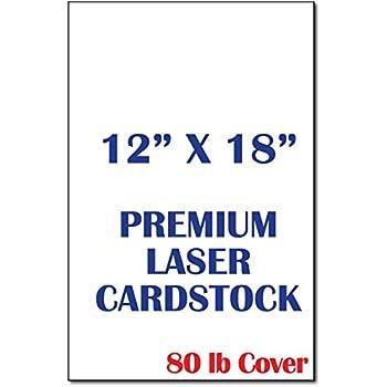 Amazon Com Futura Laser Gloss 12 X 18 100 Lb Cover 250