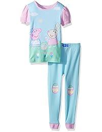 Peppa Pig - Juego de 2 Piezas de algodón para niña