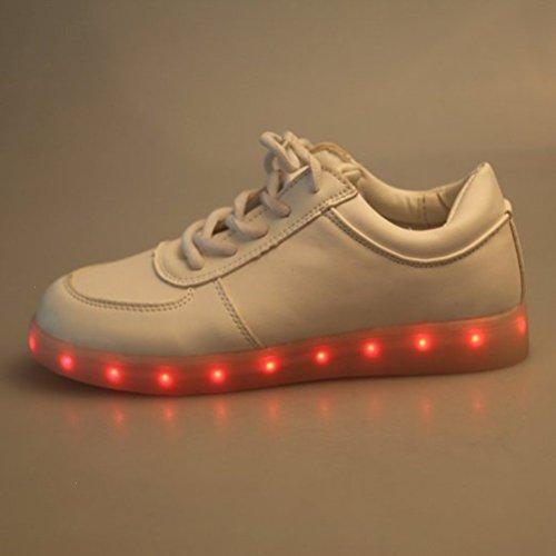 [Present:kleines Handtuch]JUNGLEST® 7 Farben LED Kinder, Jungen, Mädchen führte leuchten Trainer Sneakers Turnschuhe Sportschuh c19