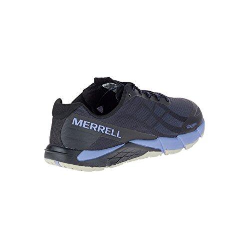 Flex Lilas Bare Access Black Noir Femme Métal Chaussures Merrell zUq1S47