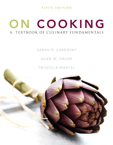 On Cooking: A Textbook of Culinary Fundamentals (5th Edition)