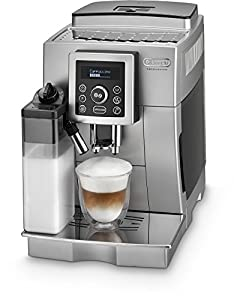 DeLonghi One Touch ECAM 23.466.S Kaffeevollautomat (Milchbehälter) silber