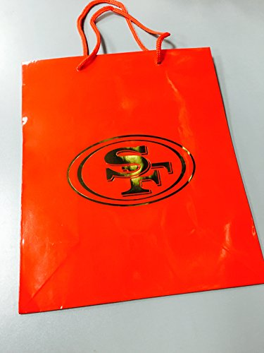 (Pro Specialties Group NFL San Francisco 49Ers Gift Bag, Red/Gold, One Size)