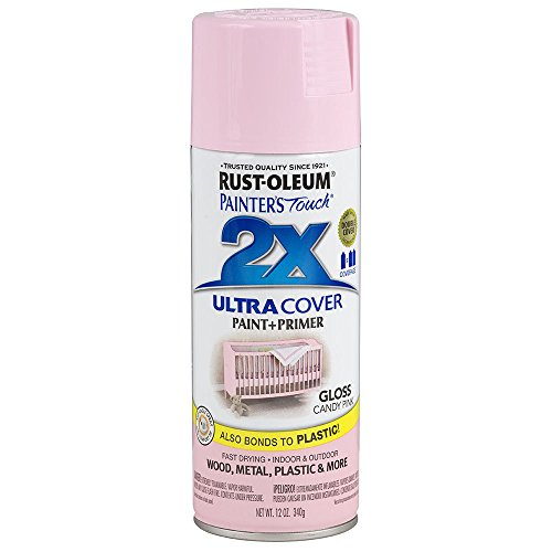 Rust-Oleum 249119 Painter's Touch Multi Purpose Spray Paint, 12-Ounce, Candy Pink