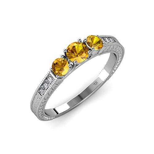 Gold 0.80 Ct Tw Diamond - 3