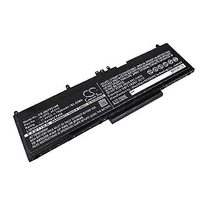 Amazon com: Replacement Battery for DELL Precision 3510 Precision