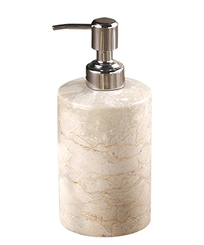 Creative Home Natural Champagne Marble Stone SPA Collection Liquid Soap, Lotion -