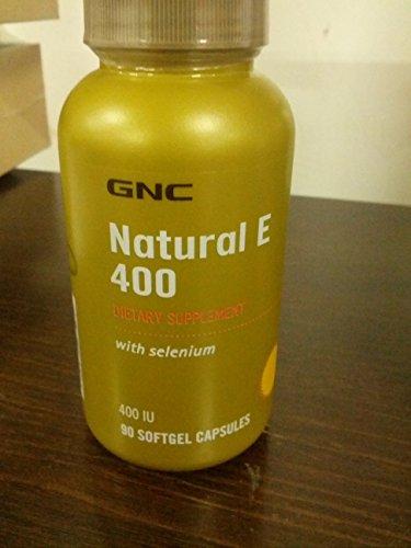 GNC E naturelle 400 avec Sélénium