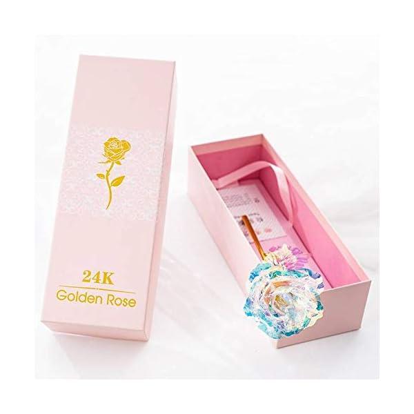 Dream-Loom-24k-Golden-Plated-RoseLong-Stem-Dipped-24k-Gold-Artificial-Rose-Flowers-in-Gift-BoxBest-HerEverlasting-Love