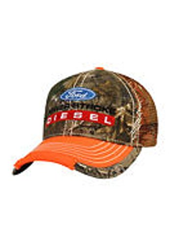 Genuine Ford Power Stroke Diesel Unstructured Realtree Camo Hat Cap