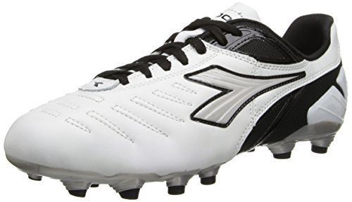 Diadora Soccer Men's Maracana L Soccer Cleat,White/Black,11 M (Diadora Footwear)