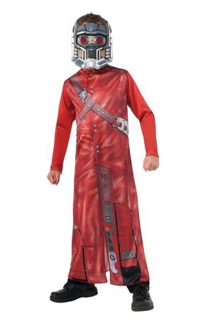 Marvel Guardians of the Galaxy Star Lord Full Dress-up Costume & Mark, Size 8-10 -