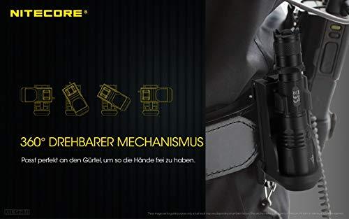 taktischen Kunststoffholster Nitecore NTH25 drehbar