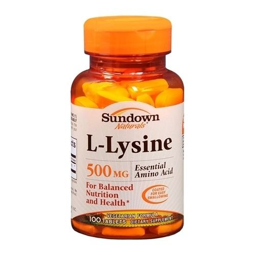 ysine 500 mg Tablets 100 CP - Buy Packs and SAVE (Pack of 2) ()
