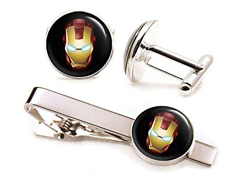 Ironman Cufflinks Avengers Superhero Groomsmen product image