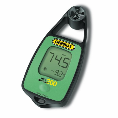General Tools DAF3010 Mini Wind Chill Meter