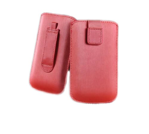 handy-point SATIN Neo Aluminium Optik Pull up Tasche Hülle Schutztasche für iPhone iPhone 2G iPhone 3G /iPhone 3GS iPhone 4 /iPhone 4S, LG E510 HUB / L3 / L3 2 / L3 II / L5 / L5 2 / L5 II / Me P350 /