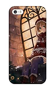 animal boots christmas hat pisuke reindeer Anime Pop Culture Hard Plastic iPhone 5/5s cases
