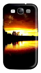 Magnificent Sunset Custom Polycarbonate Hard Case Cover for Samsung Galaxy S3 SIII I9300