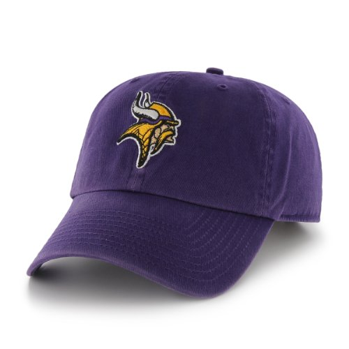 (NFL Minnesota Vikings Breast Cancer Awareness Clean Up Cap, Purple, One Size)