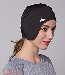 Helmet Liner Skull Cap Beanie with Ear Covers. Ultimate Performance Moisture Wicking. Fits Under Helmets.