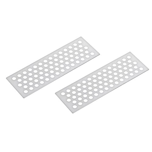 Jili Online 2 Pieces Silver Sand Ladders Recovery Board Tools for 1:10 Scale RC Car Truck Accessories