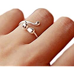 Women Jewelry Beautiful Finger Open Rings | Cute Pet Cat Ring | for Party Birthday Gift