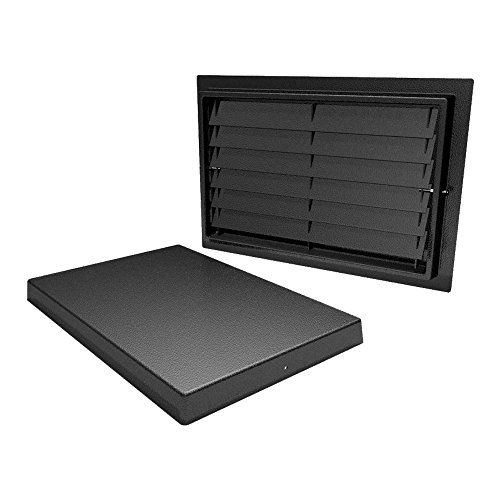 Crawl Space Door with Louvers for Crawlspace Access, Ventilation, or Encapsulation (16