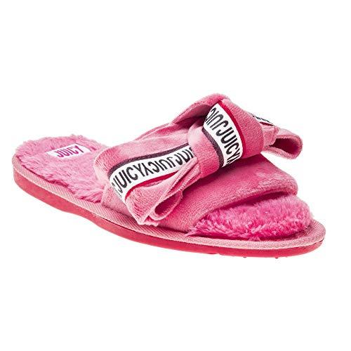 Juicy By Juicy Couture Brigitta Velvet Womens Slippers Pink