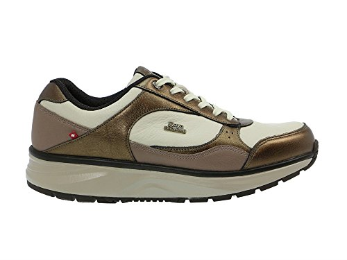 Beige Joya Tina Trainers Womens beige Leather nRBqpx8