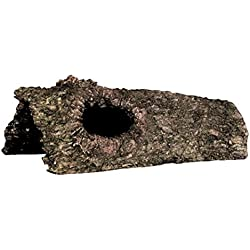 Zilla Reptile Habitat Décor Hideouts Bark Bends, Small