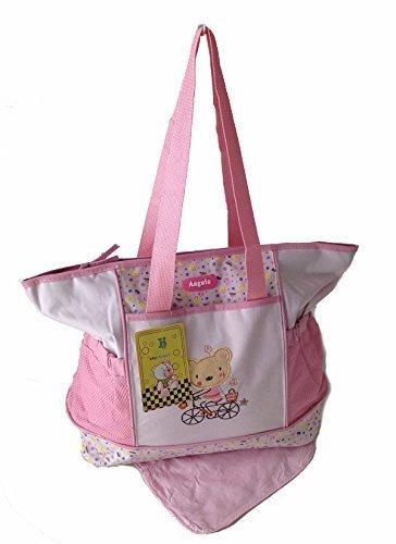 GMMH 2 piezas Baby Color Model 2015. Rosa bolso cambiador Bolsa de bolsa para pañ ales Baby funda viaje Selecció n de Colores Gmmh Ltd.