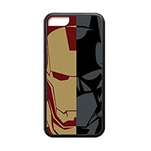 diy phone caseWEIWEI Iron Man and Batman Cell Phone Case for iphone 5/5sdiy phone case