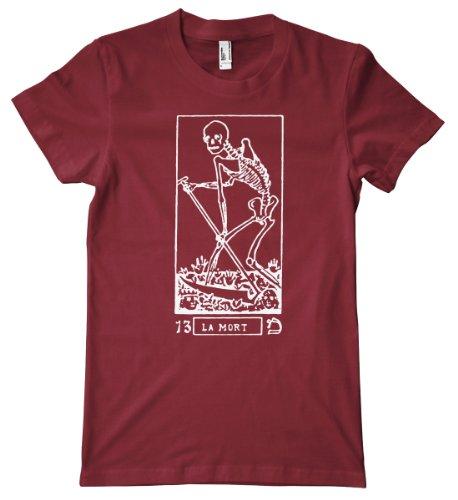 Ptshirt.com-19218-Tarot Card Series - La Mort Premium T-Shirt-B00CELCS2Q-T Shirt Design